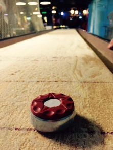 Shuffleboard at Fat Cat - Delicieuse Vie