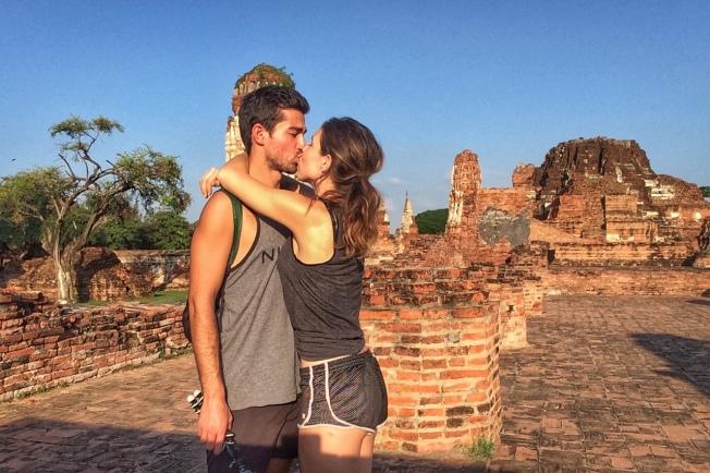 Ayutthaya bisous