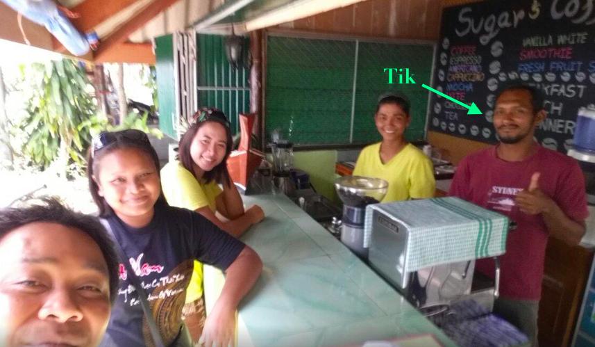 TIK - Sugar's Coffee & Restaurant - Koh Mook