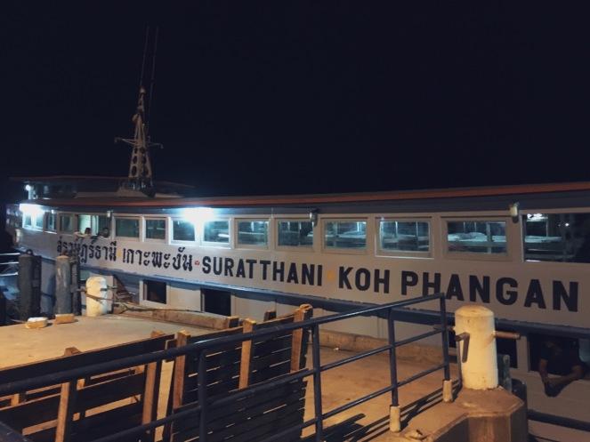 Night Boat: Koh Pha Ngan - Surat Thani