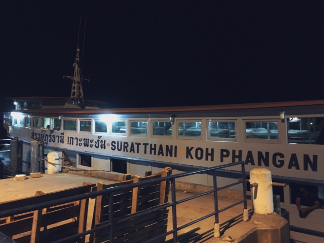Night Boat: Koh Pha Ngan - Surat Thani