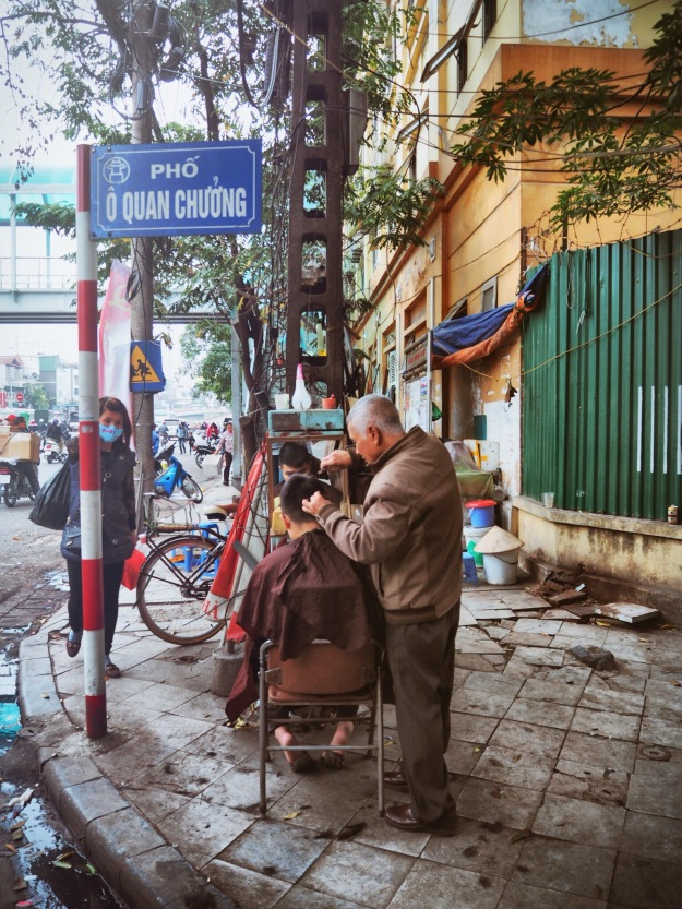 Hair dresser Hanoi - Delicieuse vie