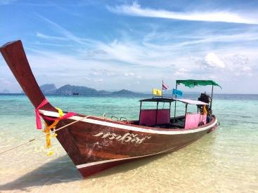 Long Tail boat Koh Kradan - Delicieuse Vie