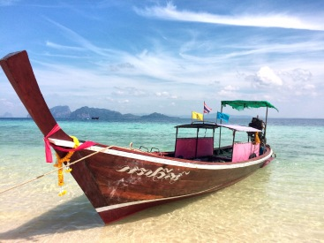 Long Tail boat Koh Kradan - Delicieuse Vie