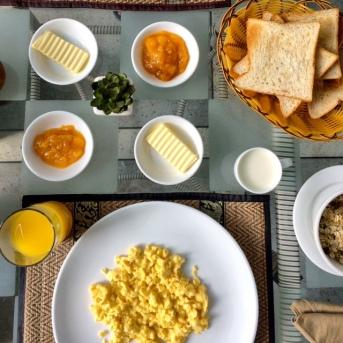 Hotel Arun boutique Villa breakfast vue piscine- Delicieuse Vie