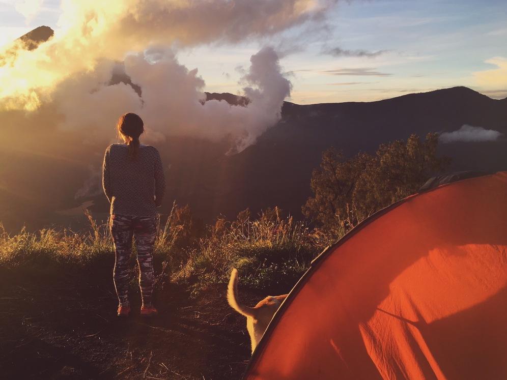 Wake up! Rinjani Trek day3 - Delicieuse Vie