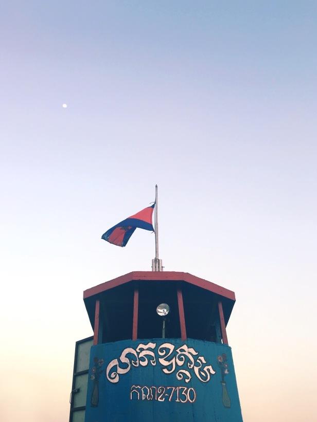 Phnom Penh Mekong Village feryy- Delicieuse Vie