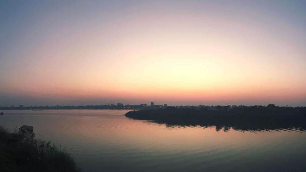 Phnom Penh sunset - Delicieuse Vie