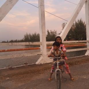 Balade Kampot centre - Old Bridge - Délicieuse vie
