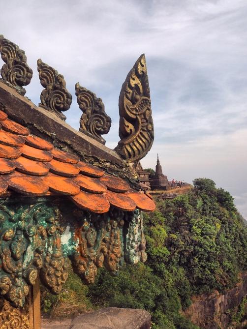 Détail Temple Bokor Kampot - Delicieusevie