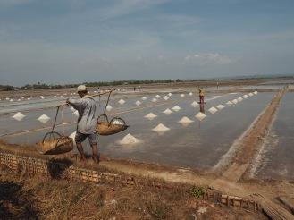 Kampot - Champs de sel Délicieuse Vie
