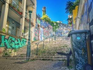 Street Art, Calçada do Lavra - Délicieuse Vie