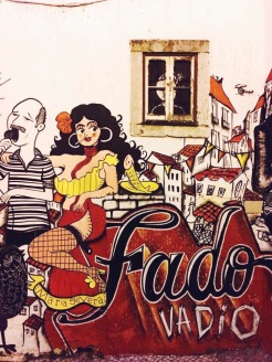 Fado street art - Lisbonne - Délicieuse Vie