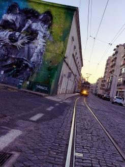 Street Art - Raton Laveur - Lisbonne by Délicieuse Vie