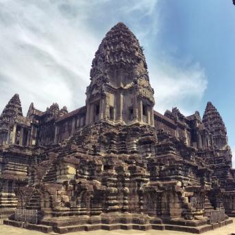Angkor Wat Cambodia de face - Délicieuse Vie