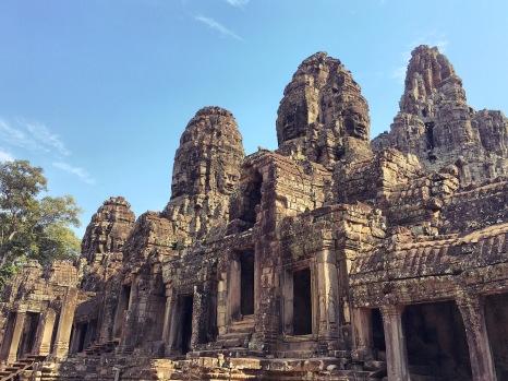 Bayon entrée temple - Cambodia Angkor Délicieuse Vie