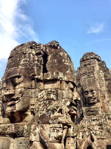 Bacon visage temple - Cambodia Angkor Délicieuse Vie