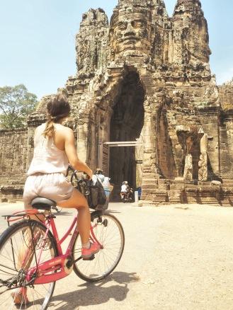 Entrée Bayon Angkor Cambodia - Délicieuse Vie