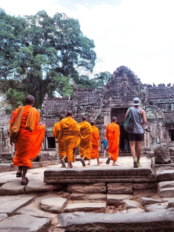 Entrance Temple Ta Phrom Cambodia - Delicieuse Vie - Angkor