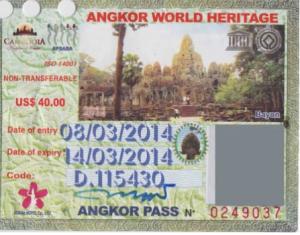 Image Pass Angkor 3 jour - Cambodia