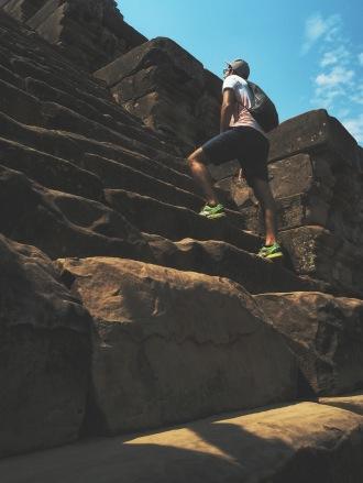 Steps men- Cambodia Angkor Temple Ta Keo Delicieuse vie