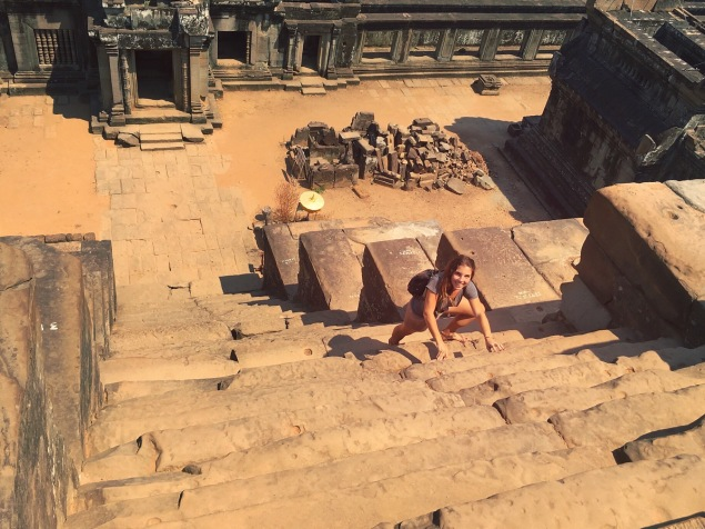 Steps - Cambodia Angkor Temple Ta Keo Delicieuse vie