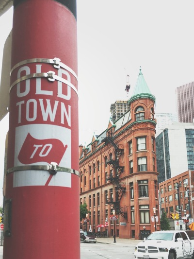 Gooderham Building - Toronto - Canada