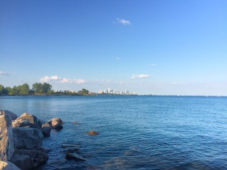 Park Humber Bay East view Délicieuse Vie