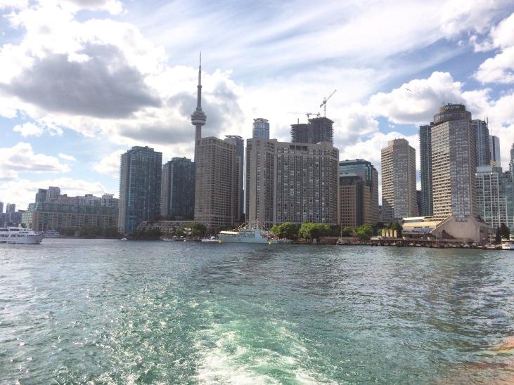 Skyline Ferry Toronto Jack Layton
