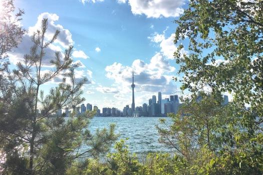 Skyline Toronto - Island Ward