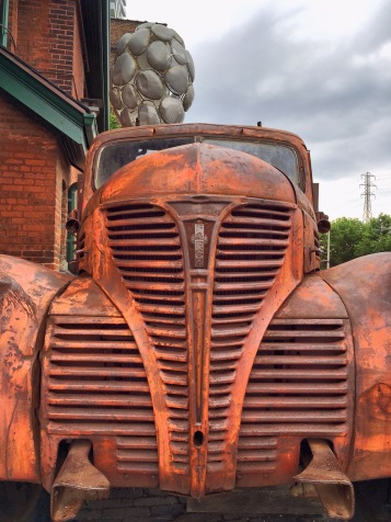 Truck Distillery Toronto Face to face
