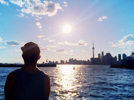 View Ward's island - Skyline Toronto - Delicieuse Vie