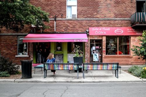 Devanture Kem Koba Montréal - Glacerie