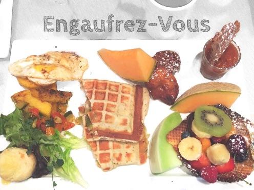 Engaufrey-vous breakfast brunch gaufres by Délicieuse Vie