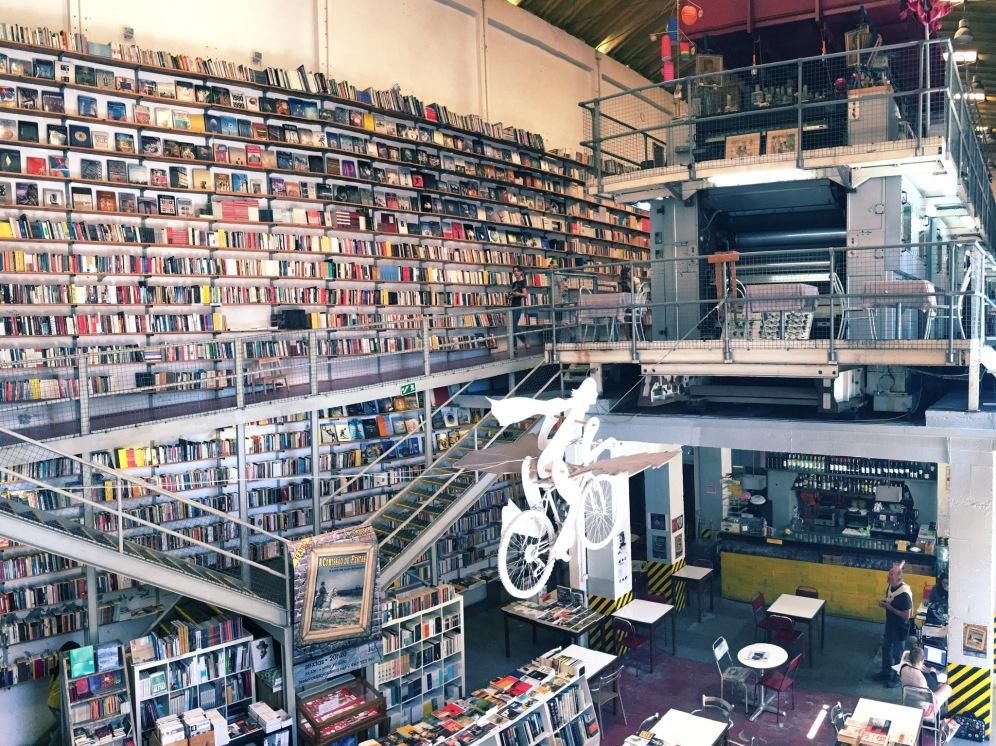 Livraria LX Factory, Lisbonne