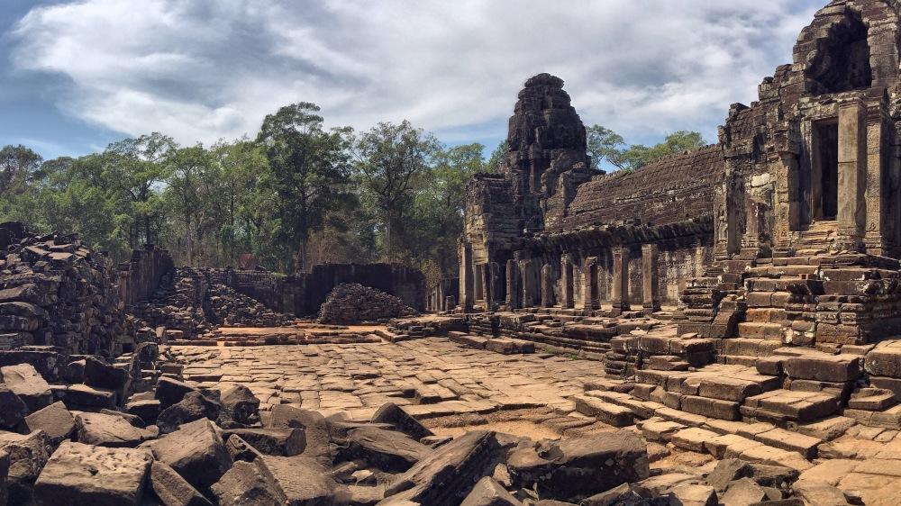 Démolition Temple d'Angkor Cambodge, scène Tom Raider by Délicieuse Vie
