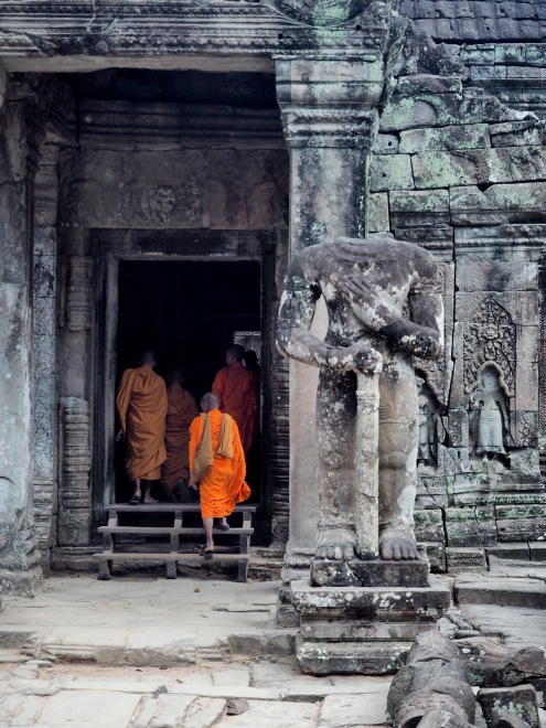 Buddhas temple Angkor Cambodge - Siem Reap Délicieuse vie