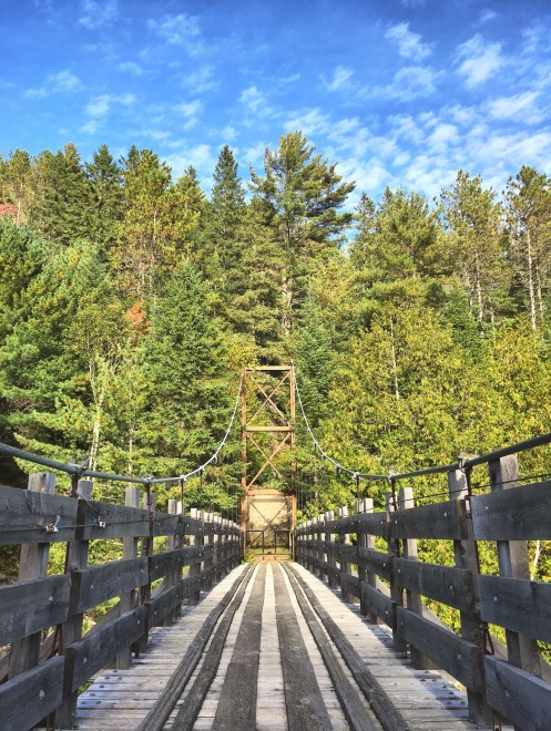 Pont Suspendu - Ouareau - Delicieuse Vie