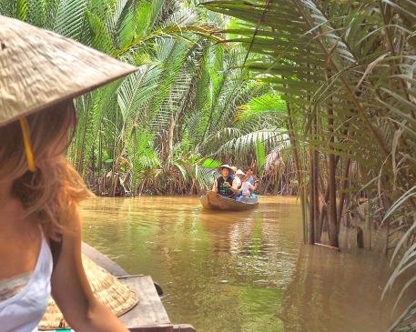 Mékong River - Boat Vietnam - Delicieuse vie