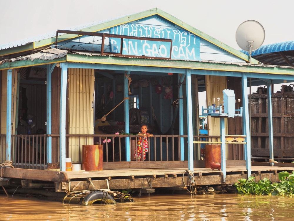 Tonlé Sap, Cambodge - Delicieuse Vie