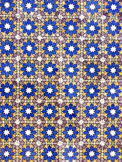 Carreaux de mosaïques Lisbonne - portugal