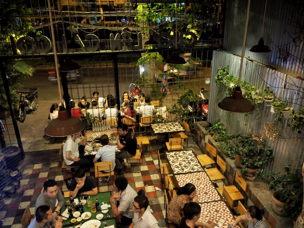 Len Cai Coi Restaurant Ho Chi Minh ©Delicieusevie