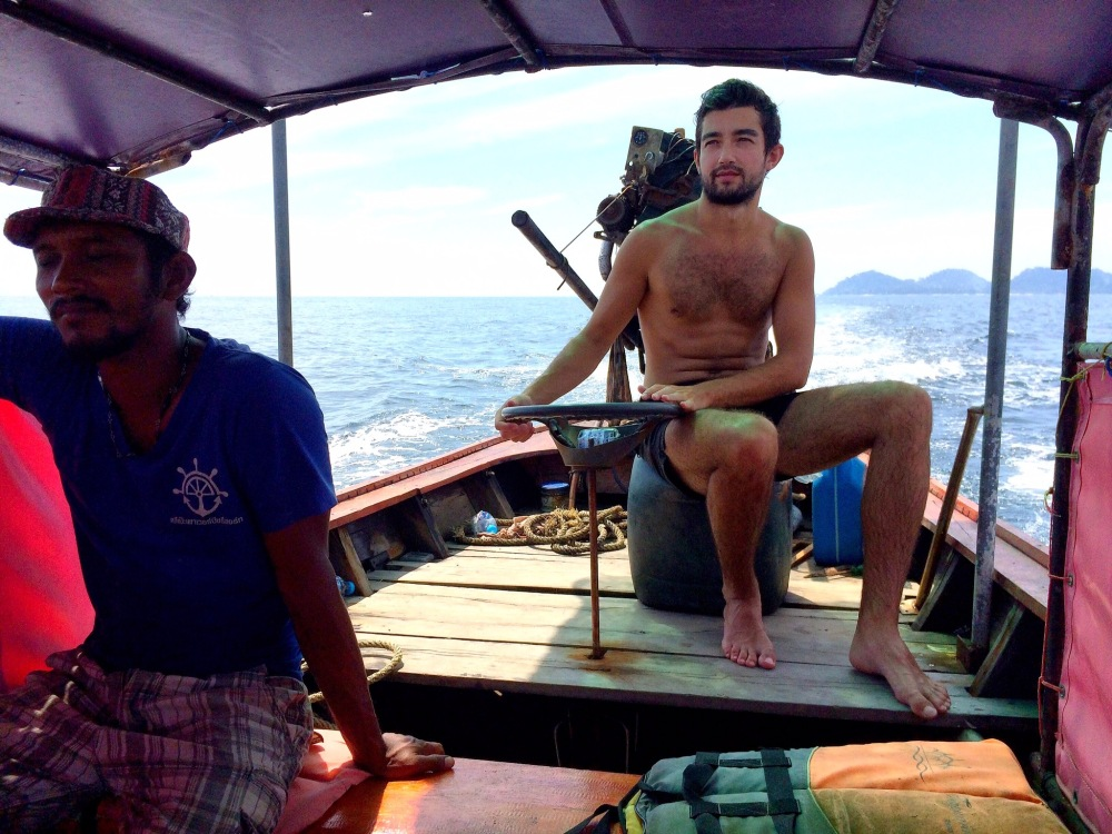 Long boat driving best moment in 2016 ©delicieusevie