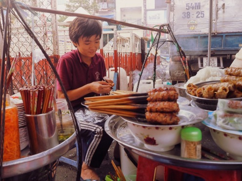 Binh Tay Market - street food ©Delicieusevie