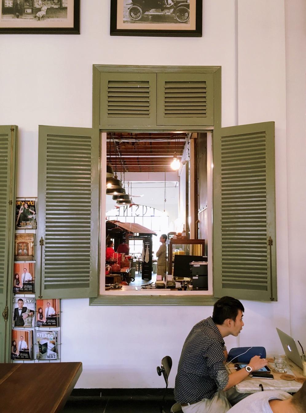 L'Usine Café concept store Ho Chi Minh - Viet-Nâm ©Delicieusevie