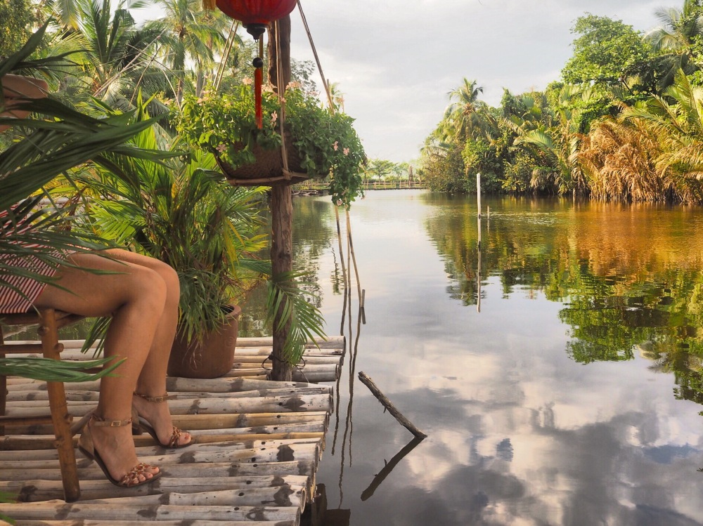Village Bính Quói 2 River HO Chi Minh - Viet Nam ©Delicieusevie