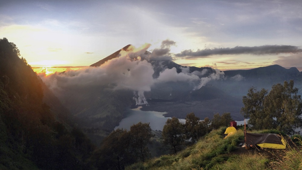 volcan Lombok best moment in 2016 ©delicieusevie