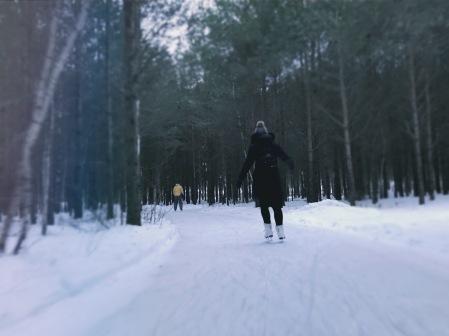 Domaine de la forêt perdue patinage ©delicieusevie