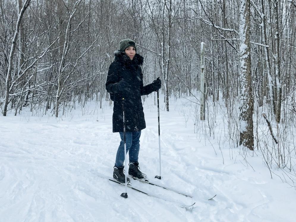 Ski de fond Parc Cap Saint Jacques Montreal ©delicieusevie