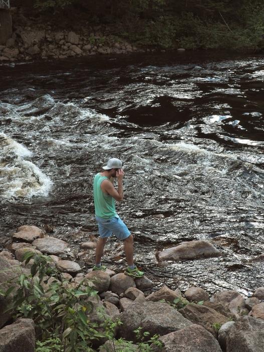 Rivière et baignade _ SEPAQ Jacques Cartier by Délicieuse Vie